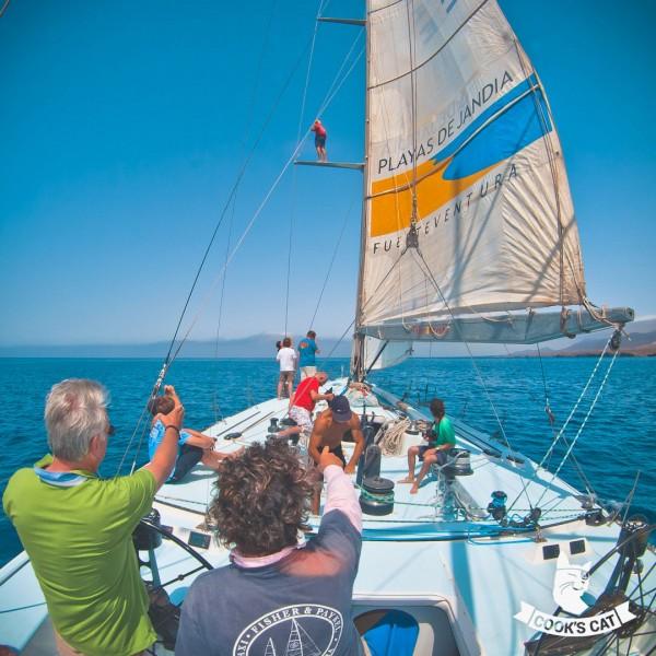 Segel Ausflug mit dem legendären Volvo Ocean Racer