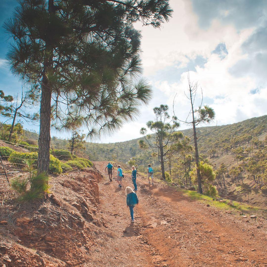 Das wilde Inland Fuerteventuras lässt sich überraschnd gut zu Fuß erkunden. Es gibt viele ausgebaute Wanderwege zu den Sehsnwürdigkeiten der Insel.
