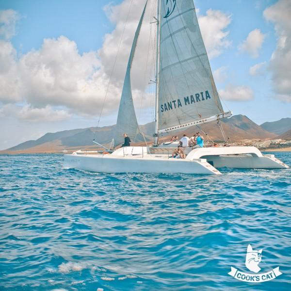 Katamaran Bootsausflug mit der Santa Maria