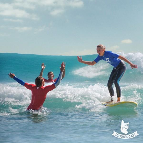 Schnupper Surfkurs in kleinen Gruppen an Traumstränden