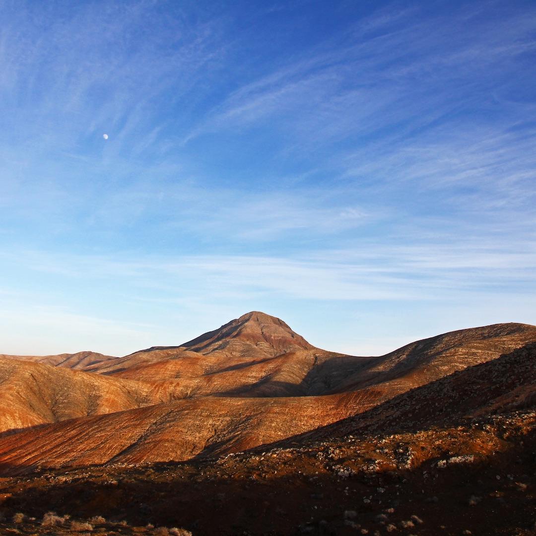 Fuerteventura ist vulkanischen Ursprungs und erhob sich vor 22 Millionen Jahren aus dem Atlantik.