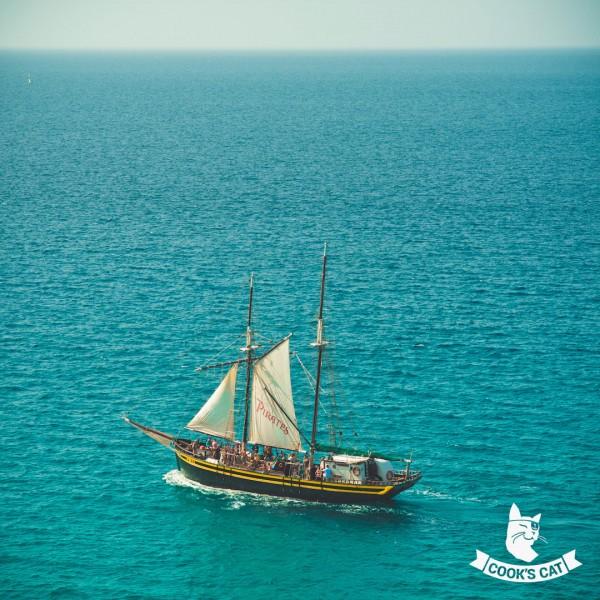 Familienausflug mit dem Piratenschiff Pedra Sartana