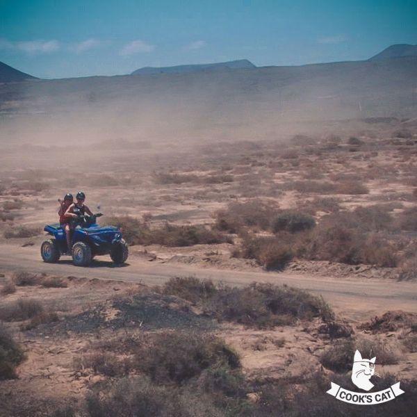 Quad Tour auf Fuerteventura zu den weißen Dünen von Corralejo