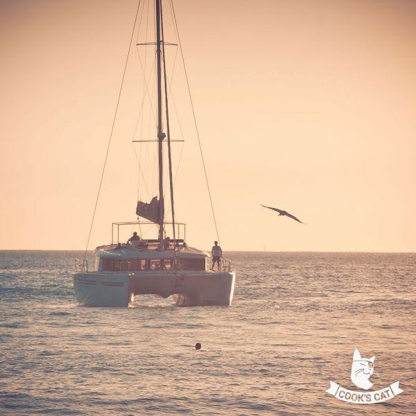 Badestopp beim Ausflug mit Katamaran Magic Deluxe auf Fuerteventura