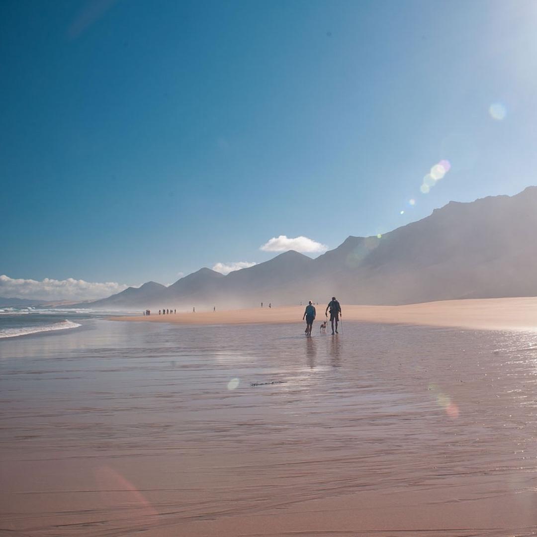 Im Süden Fuerteventuras gibt es gleich zwei Jandias. Die Halbinsel im Süden Fuereventuras heißt Jandia und es gibt den Ort Jandia, der nahtlos an Morro Jable anschliesst.