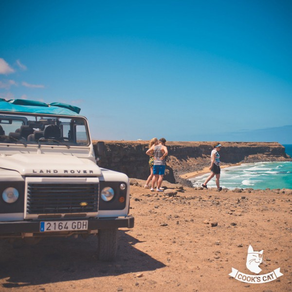 Große Jeep-Safari bis zu den Dünen von Corralejo