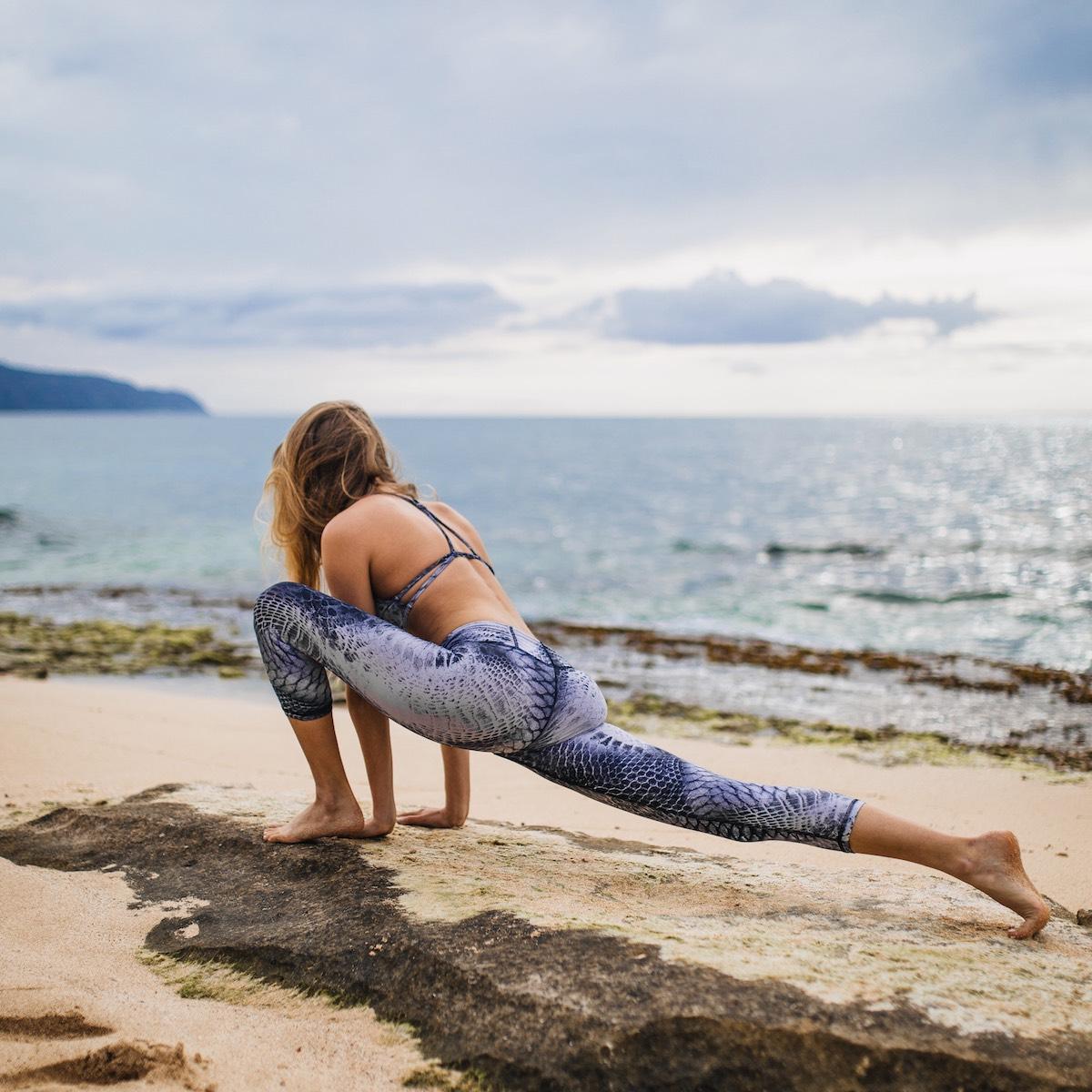 Teneriffa bietet vom Hauptstadt Yoga Studio in Santa Cruz de Tenerife bis zur Finca in der Bergen des Teno Gebirges eine tolle Kulisse für entspannte Yoga Momente.